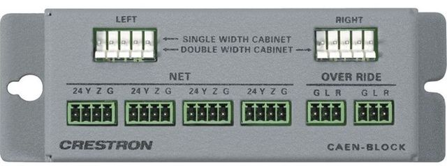 Crestron® Cresnet Network Termination Block-CAEN-BLOCK