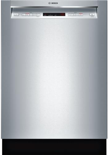 "Bosch 300 Series 24"" Built In Dishwasher-Stainless Steel-SHEM63W55N"