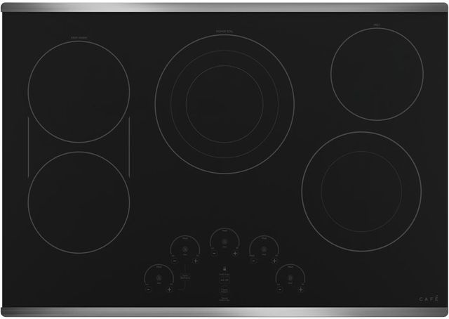 """Café™ 30"""" Stainless Steel Built in Electric Cooktop-CEP90302NSS"""