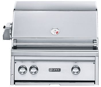 """Lynx Professional Series 27"""" Built In Grill-L27R-2NG"""