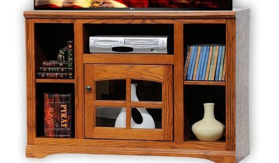 American Heartland Oak TV Stand-93543