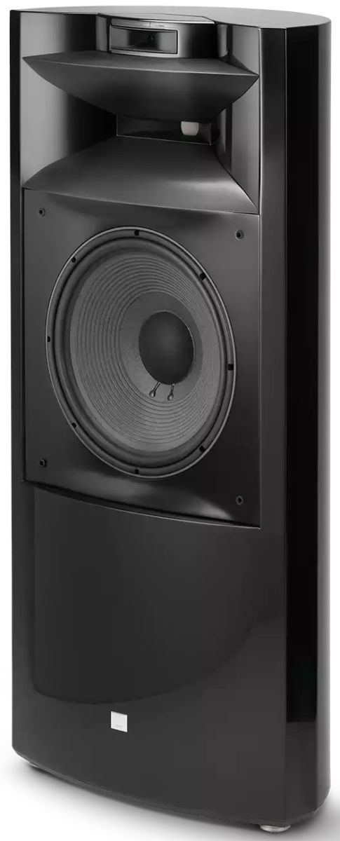 "JBL Synthesis® Project K2 S9900 Black Gloss 15"" 3-Way Floor Standing Loudspeaker-K2S9900BG"