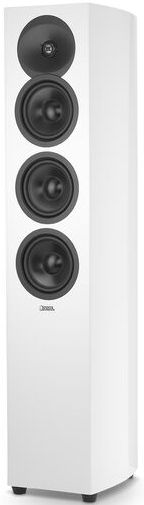 """Revel® Concerta2™ Series White Gloss 5.25"""" Floor Standing Loudspeaker-Black-F35WH"""