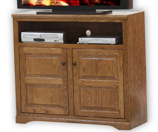 American Heartland Oak Tall TV Stand-93843