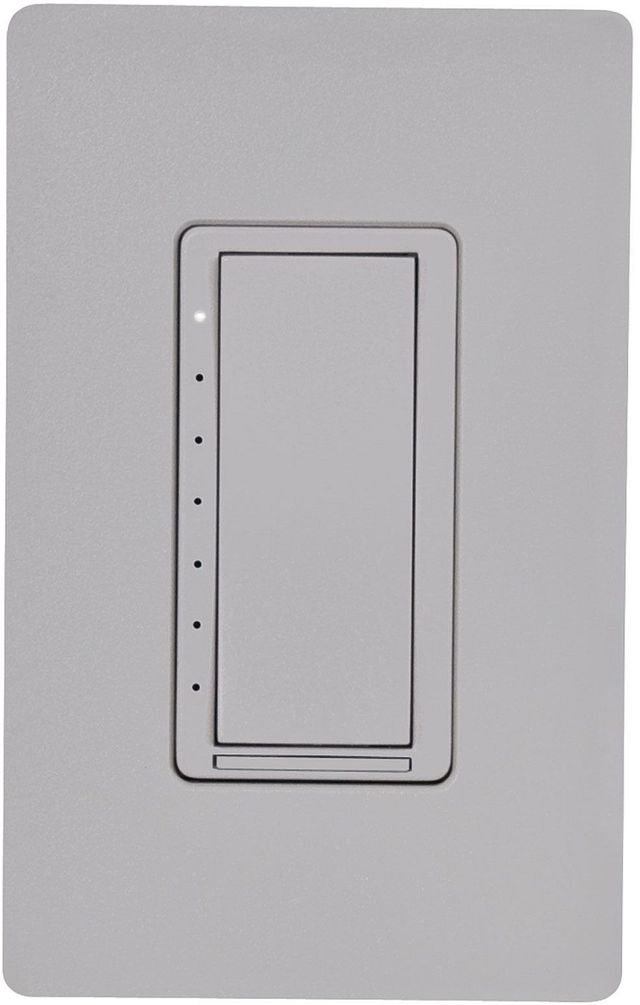 Crestron® Cameo® Dusk Textured 120V Wireless In-Wall Dimmer/Switch Combo-CLW-DIMSWEX-P-DSK-T