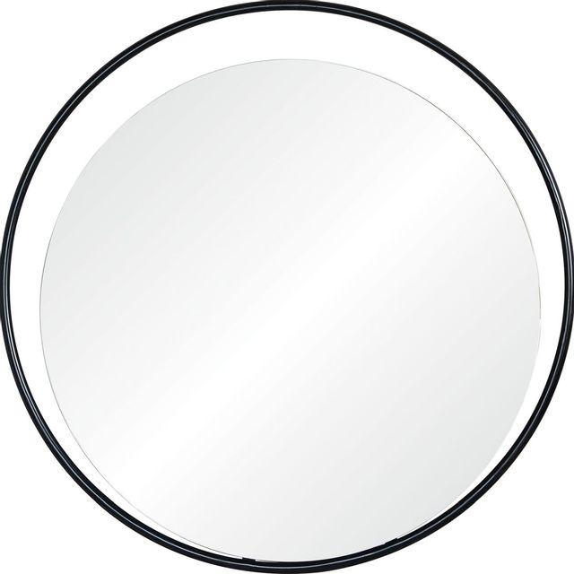 Miroir Rochford, noir, Renwil®-MT2317