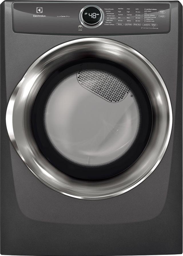 Electrolux Laundry 8.0 Cu. Ft. Titanium Front Load Electric Dryer-EFME527UTT-15-1535