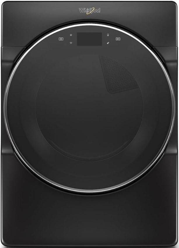 Whirlpool® 7.4 Cu. Ft. Black Shadow Front Load Gas Dryer-WGD9620HBK