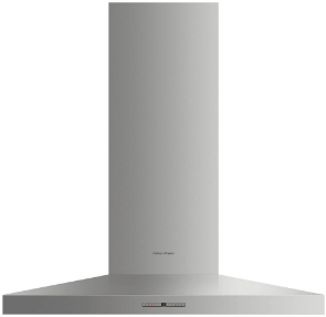"""Fisher & Paykel 36"""" Wall Chimney Pyramid Venthood-Stainless Steel-HC36PHTX1"""