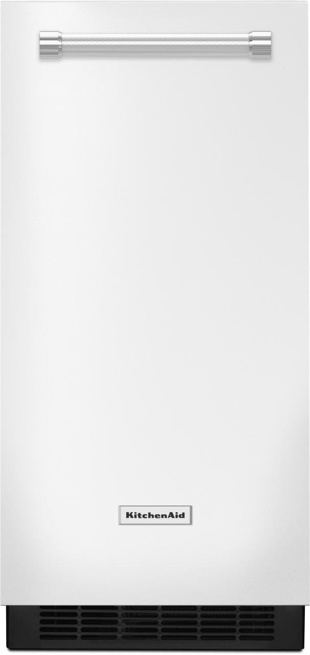 KitchenAid® 15'' White Ice Maker-KUIX305EWH