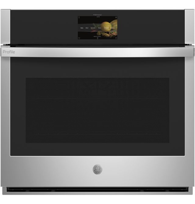 """GE Profile™ 30"""" Stainless Steel Electric Single Oven Built In-PTS9000SNSS"""