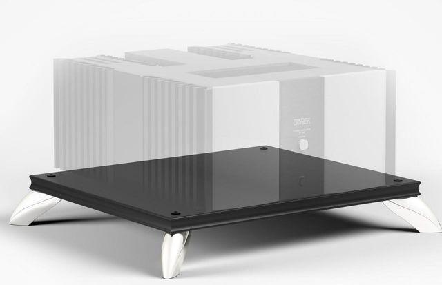 Salamander Designs® Synergy Amplifier Stand-Black-SAMP/B
