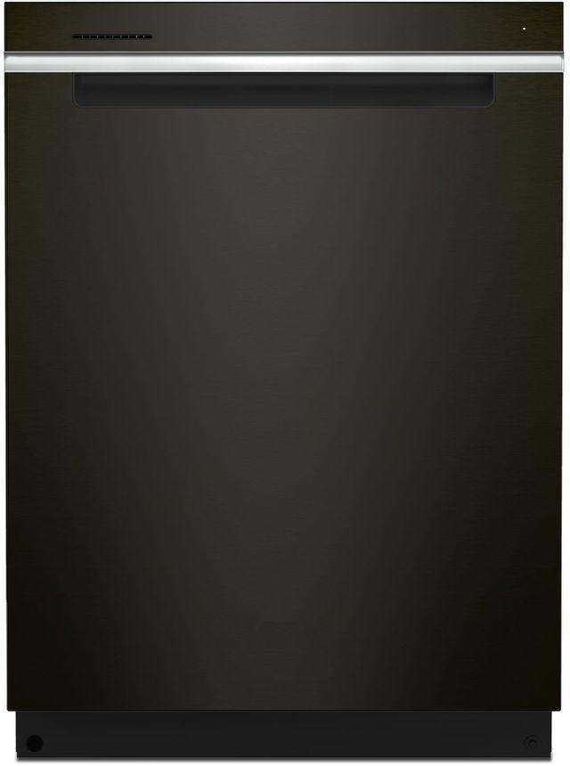 """Whirlpool® 24"""" Black Stainless Built In Dishwasher-WDTA50SAKV"""