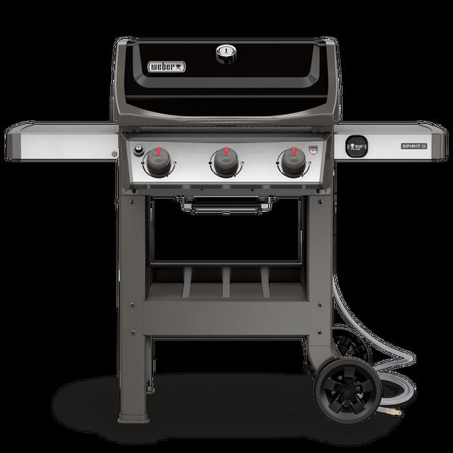 "Weber® Spirit® II E-310 52"" Black Free Standing Gas Grill-49010001"