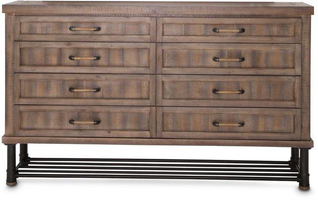 Michael Amini® Crossings Reclaimed Barn Dresser-KI-CRSG050-217
