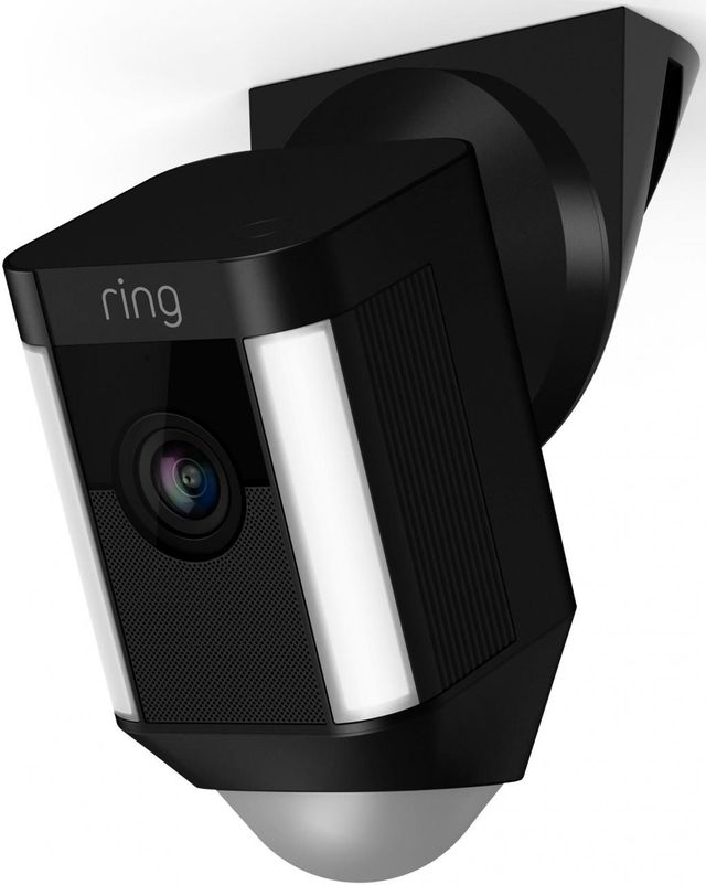 Ring Black Spotlight Wired Cam Ceiling Mount-8833890484313