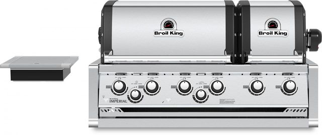 """Broil King® Imperial™ XLS 27"""" Stainless Steel Built-In Grill-957084"""