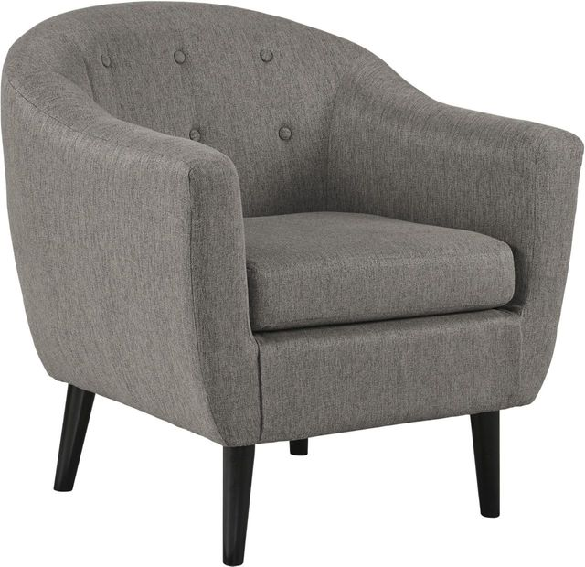Signature Design by Ashley® Klorey Charcoal Accent Chair-3620821