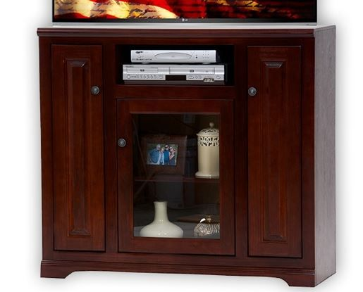 American Heartland Poplar Tall TV Stand-95848