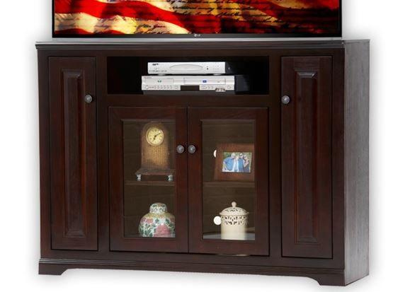 American Heartland Poplar Tall TV Stand-95856