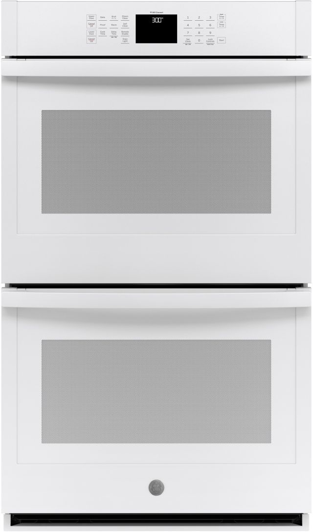 """GE® 30"""" White Electric Double Oven Built In-JTD3000DNWW"""
