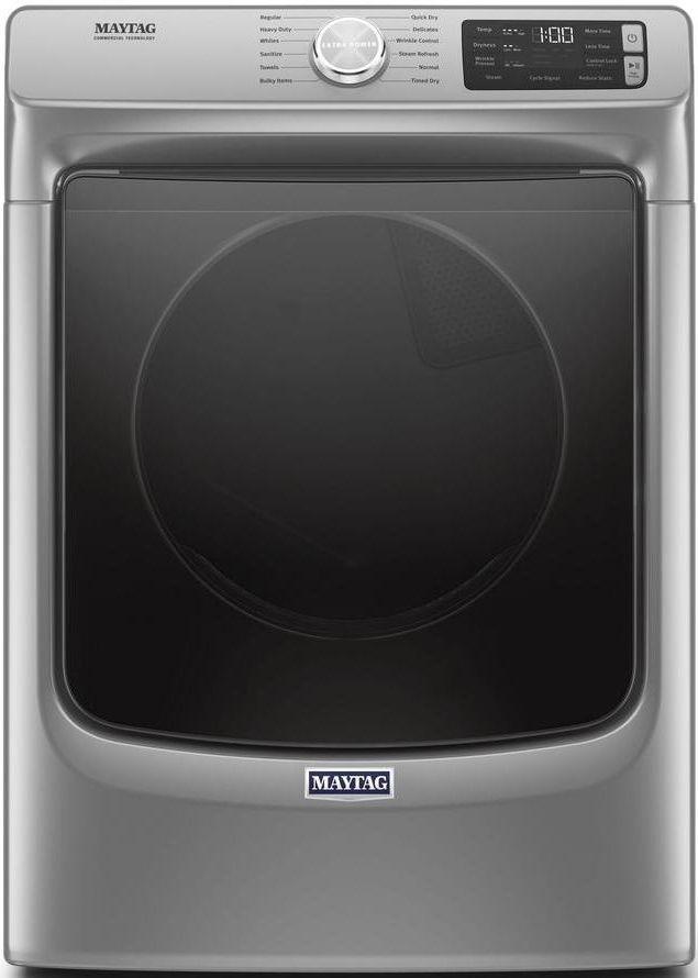Maytag® 7.3 Cu. Ft. Metallic Slate Front Load Gas Dryer-MGD6630HC