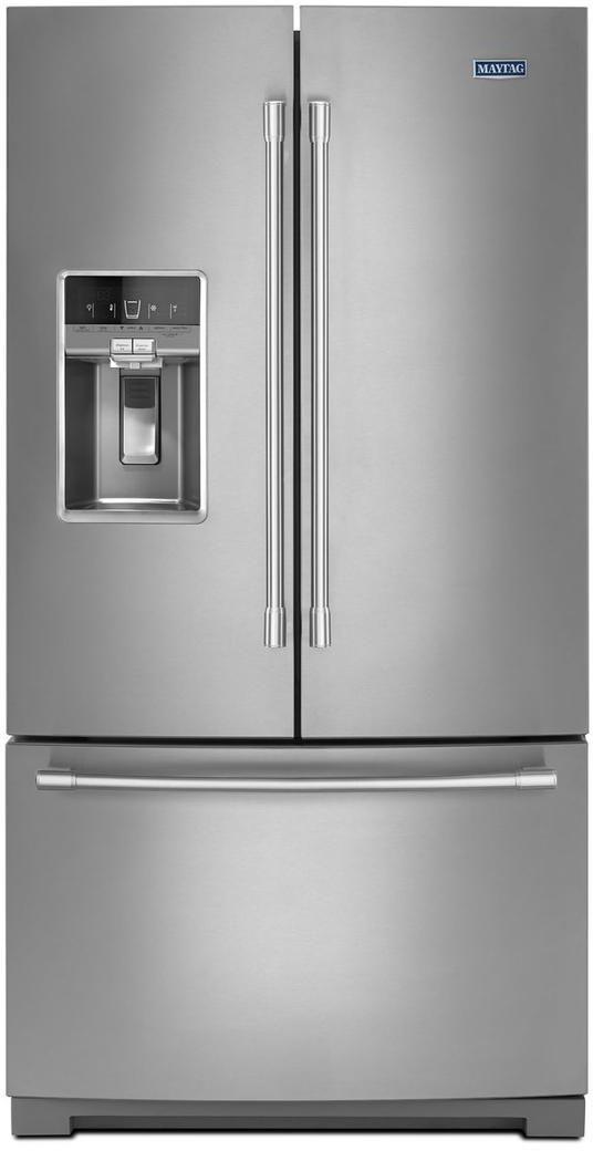 Maytag® 26.8 Cu. Ft. Fingerprint Resistant Stainless Steel French Door Refrigerator-MFT2772HEZ