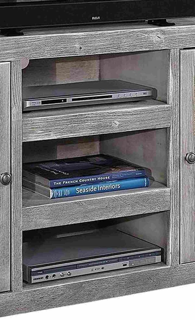 "Aspenhome® Avery Loft Ghost Black 65"" Highboy Console w/ 2 Doors-DY1244-GHT"