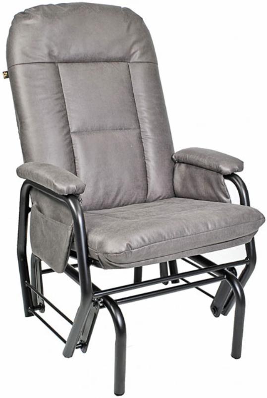 Fauteuil inclinable EKO en tissu gris PEL International®-803109