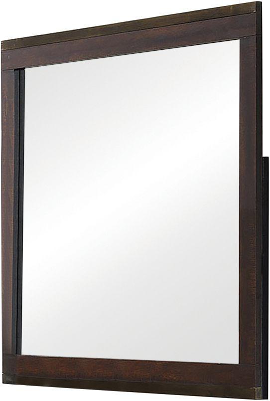 Coaster® Edmonton Rustic Tobacco Mirror-204354