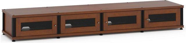 Salamander Designs® Synergy Model 147 AV Cabinet-Dark Cherry/Black-147C/B