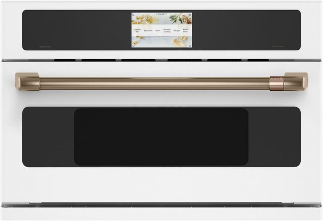 """Café™ 29.75"""" Matte White Electric Oven/Micro Combo Built In-CSB913P4NW2"""