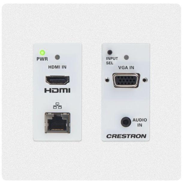 Crestron® DM Lite – HDMI® Over CATx Transmitter-White-HD-TX-201-C-2G-E-W-T