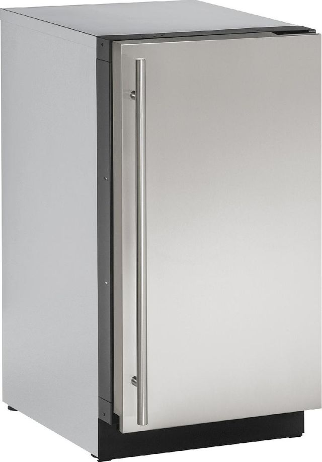 U-Line® 2000 Series 3.4 Cu. Ft. Stainless Steel Under the Counter Refrigerator-2218RS-00B