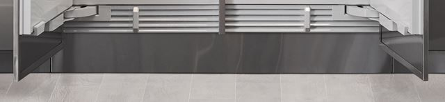 "Sub-Zero® 48"" Integrated Stainless Steel Kickplate-7026838"