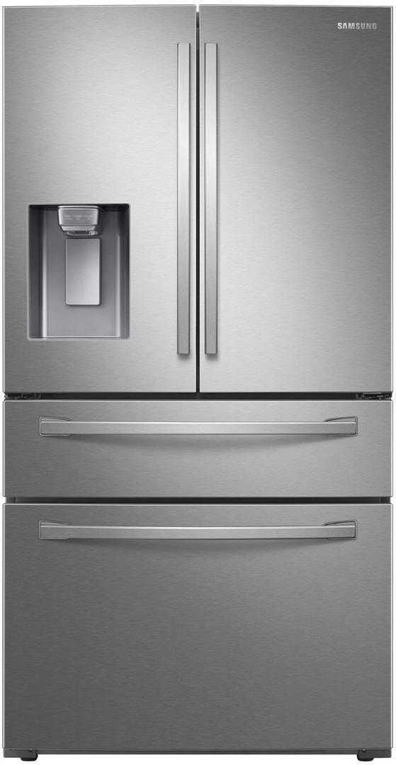 Samsung 22.6 Cu. Ft. Fingerprint Resistant Stainless Steel Counter Depth French Door Refrigerator-RF24R7201SR