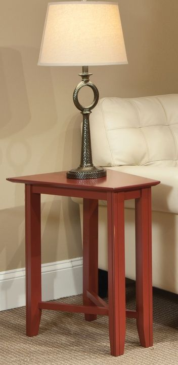 Durham Furniture Solid Accents Ruby Eclectic Wedge Table-900-565G
