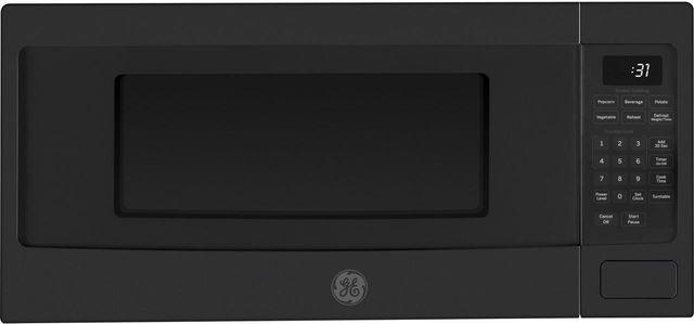 GE Profile™ 1.1 Cu. Ft. Black Slate Countertop Microwave Oven-PEM31FMDS