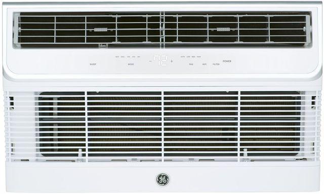GE® 8,000 BTU's Soft Gray Thru the Wall A/C-AJEQ08AWH