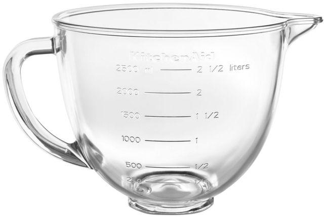 KitchenAid® 3.5 Quart Glass Bowl-KSM35GB