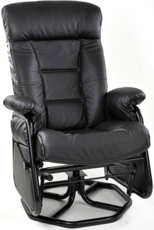 Fauteuil inclinable PEL en tissu noir PEL International®-114817