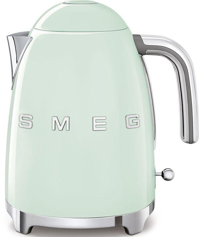 Smeg 50's Retro Style Aesthetic Pastel Green Electric Kettle-KLF03PGUS