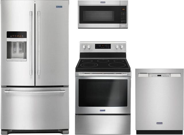 Maytag® 4 Piece Fingerprint Resistant Stainless Steel Kitchen Package-MAKITMFI2570FEZ