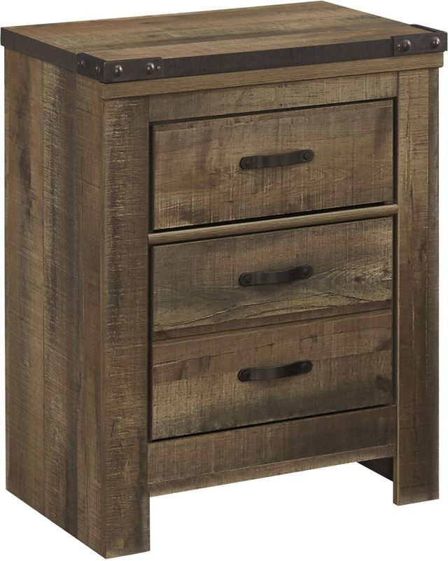 Signature Design by Ashley® Trinell Rustic Brown Nightstand-B446-92