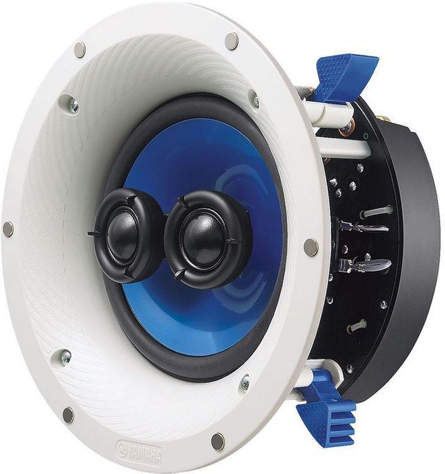 Yamaha® Single Stereo In-Ceiling Speaker-NS-ICS600WH