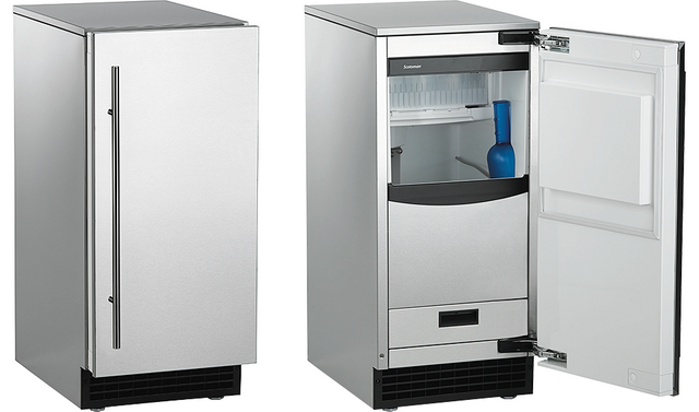 Scotsman® Brilliance® Gourmet Cuber Ice Maker-Stainless Steel-SCCP30MA-1SU