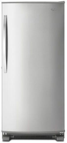 Whirlpool® 18 Cu. Ft. Upright Freezer-Monochromatic Stainless Steel-WZF79R18DM