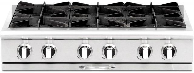 """Capital Culinarian 36"""" Stainless Steel Gas Range Top-CGRT366L"""