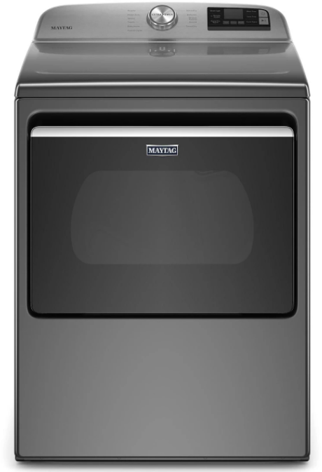 Maytag® 7.4 Cu. Ft. Metallic Slate Front Load Electric Dryer-YMED6230HC
