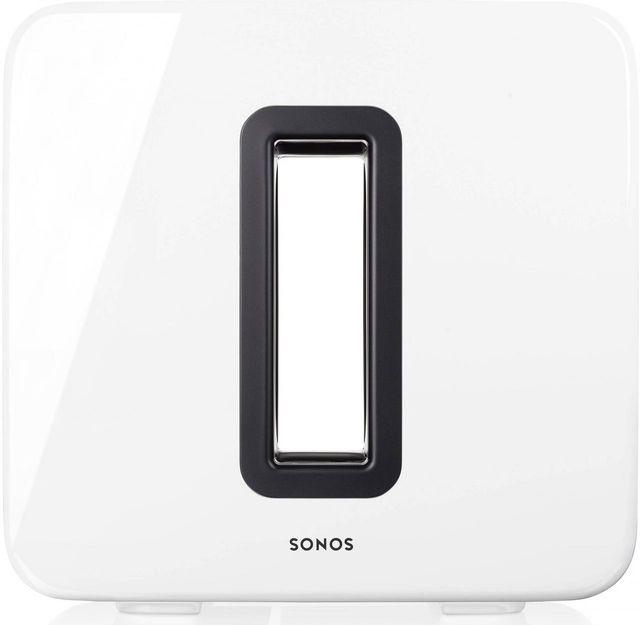 Sonos® SUB™ White Gloss Wireless Subwoofer-SUB WHITE
